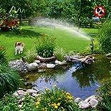 Gardigo Wasserstrahl Tiervertreiber I Reiherschreck, Katzenschreck I Mit Bewegungsmelder I Reichweite bis zu 10m I Deutscher Hersteller - 7